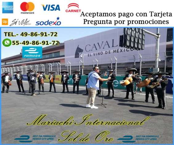 Mariachis en alvaro obregon 5549869172 urgentes