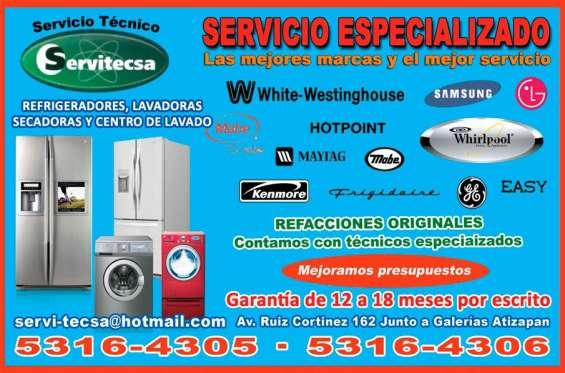 Reparacion de lavadoras a domicilio