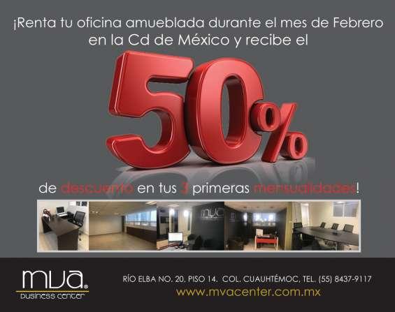 Promocion en renta de oficinas
