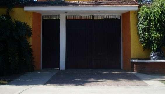 Se renta departamento con jardín grande en xochimilco