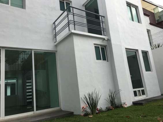 Se alquila hermosa casa de 3 pisos en xochimilco bosque residencial del sur