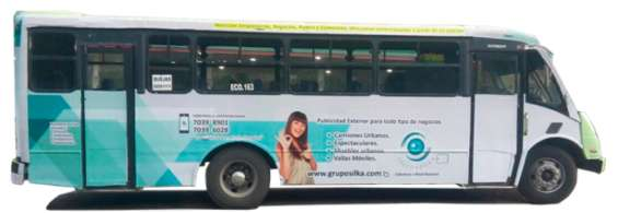 Publicidad en camiones urbanos