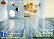 Los mejores precios en piso laminado LAMI-TEC