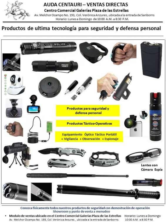 Gadgets para seguridad personal y espionaje