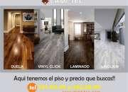 Presupuestos a domicilio GRATIS LAMI-TEC pisos