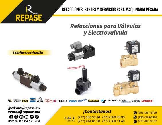 Electroválvulas para equipos linkbelt