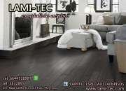 Paquete piso laminado con instalación incluida