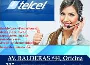 ATENCION A CLIENTES TELCEL + MEDIO TIEMPO +