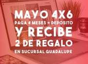 OFICINAS VIRTUALES GUADALUPE CON PROMOCION DE 4X6 APROVECHA