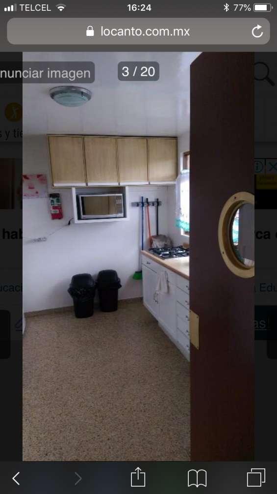 Fotos de Rento habitacion doble en col espartaco 4