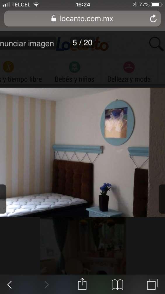 Fotos de Rento habitacion doble en col espartaco 6