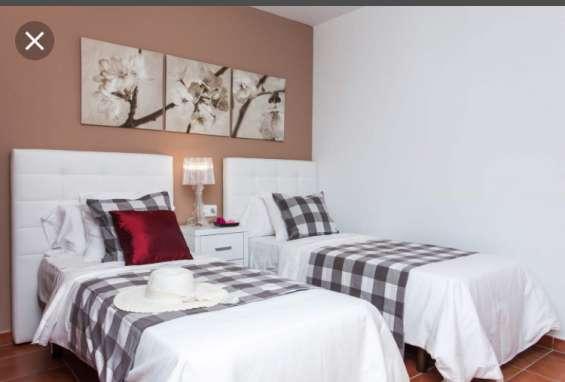 Rento habitacion doble en col espartaco