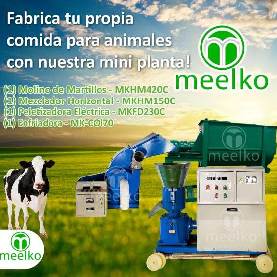Extrusora procesadora de alimentos para animales