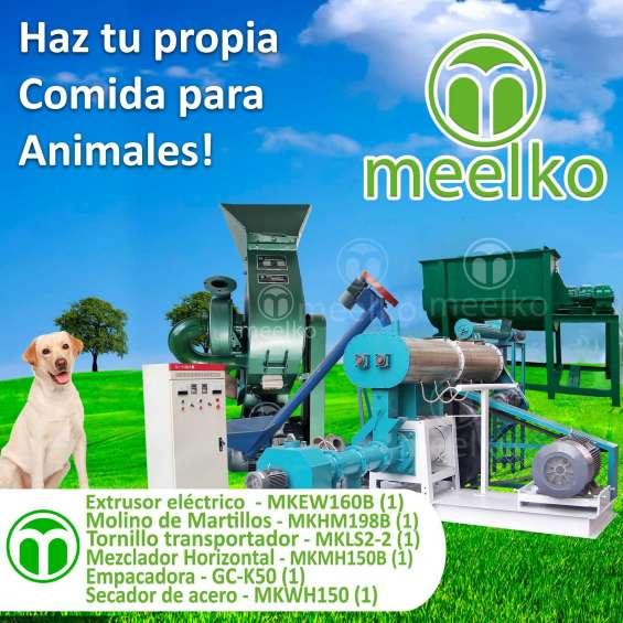 Grupo procesador alimentos para animales