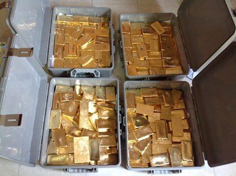 Venta de lingotes de oro a un precio inmejorable.