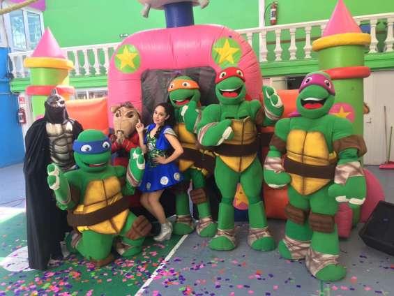 ¡increible show de tortugas ninja!