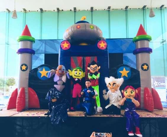 ¡super mega show de jovenes titanes!