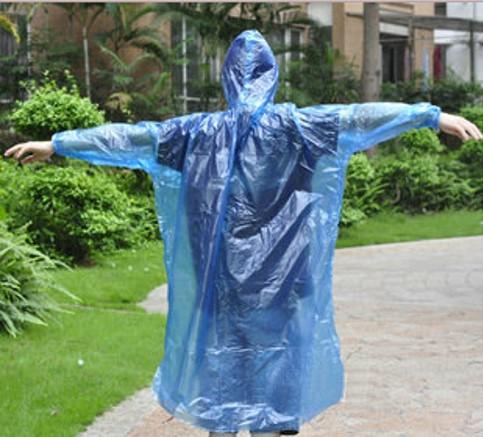 Poncho impermeable para lluvia