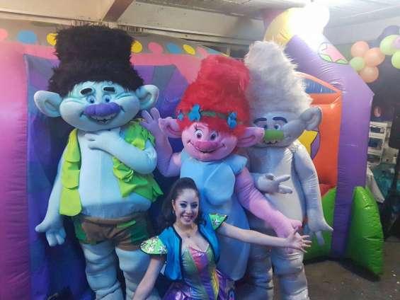 Show infantil de trolls en cdmx