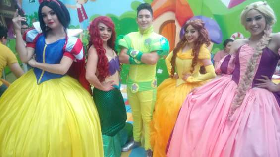 Show infantil de las princesas en cdmx