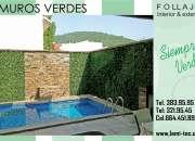 Muros verdes con excelente precio e instalación incluida