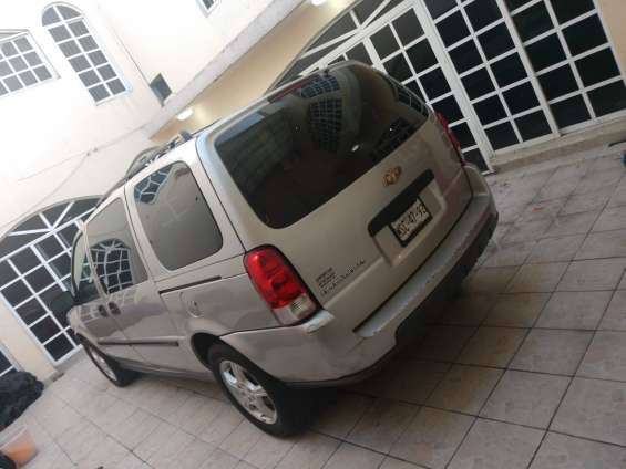 Chevrolet uplander ls 2007 versión de lujo