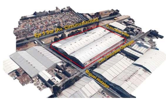 Propiedad industrial en venta o renta - eje 5 sur