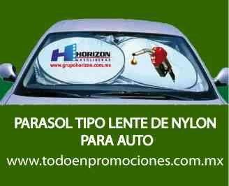 Parasoles personalizados para auto