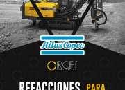 Refacciones para perforadoras Atlas Copco