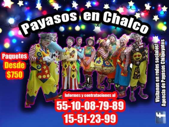 Payasos para fiestas infantiles en chalco! llama ya!!