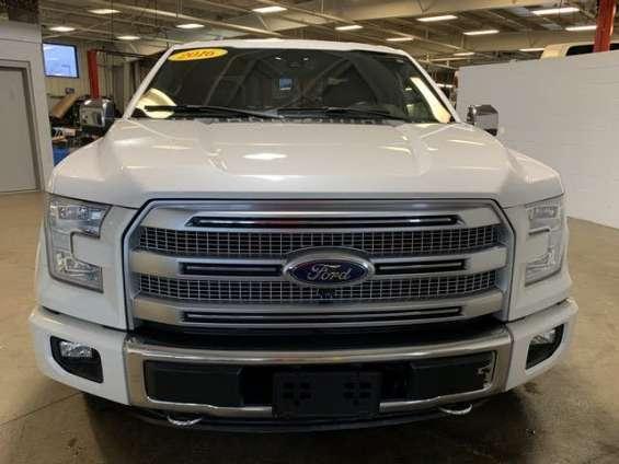 Ford f150 platinum 2016