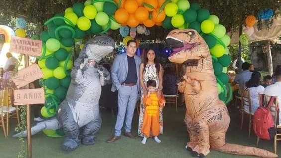 Show de dinosaurios.