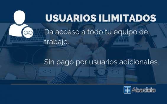 Fotos de Abacista, software administrativo, contable y fiscal en la nube 12