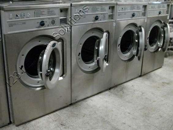Wascomat lavadora de carga frontal comercial w620 usada