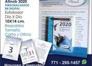 Calendario Exfoliador ATINOB 2020