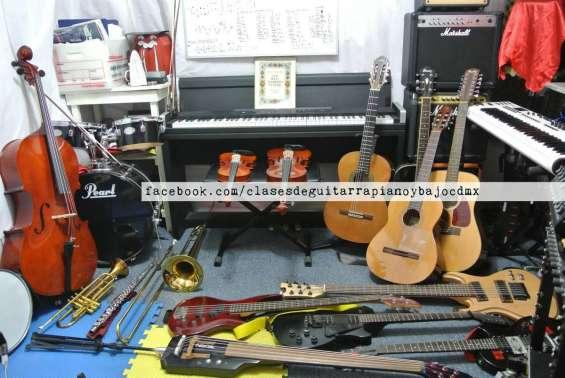 Clases online guitarra clasica, electrica, piano y bajo