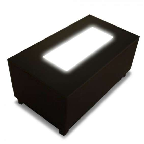 Mesas iluminadas para bares eventos y salones mobiliario lounge