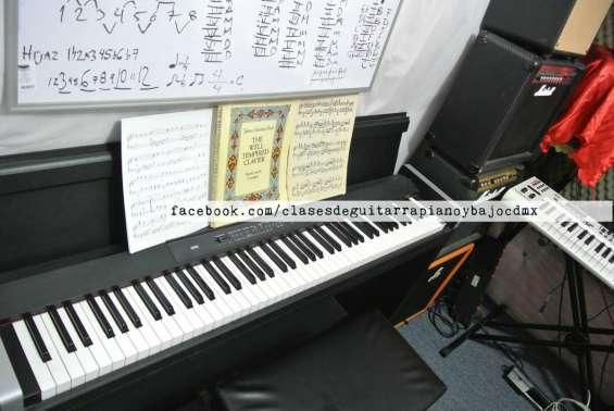 Clases de piano clasico y teclado particulares colonia roma cdmx