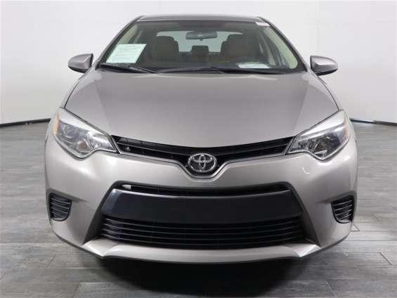 Toyota corolla sedan 2016