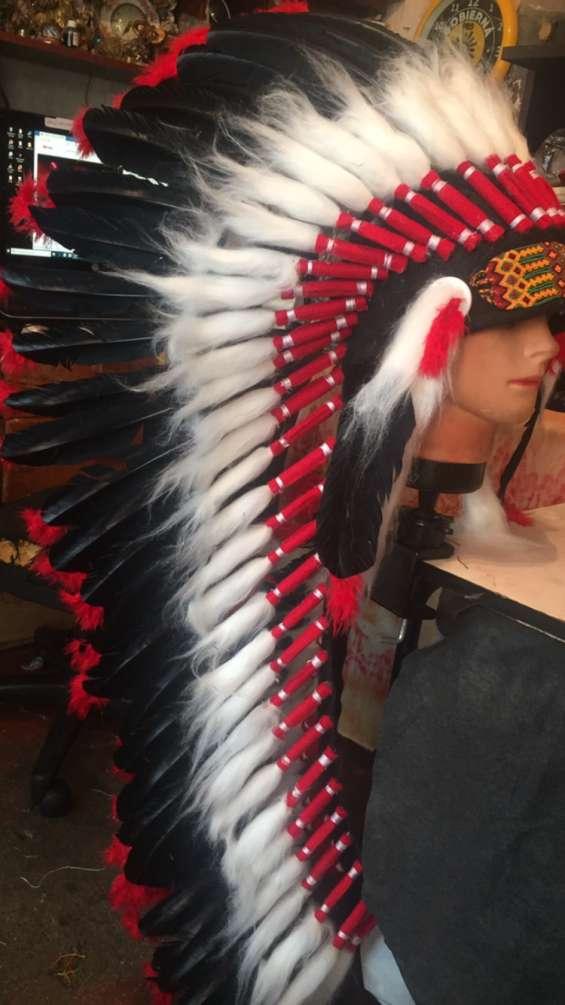 Penachos apaches indio americano elaboramos fabrica