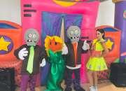 Show infantil de plantas vs zombies en cdmx