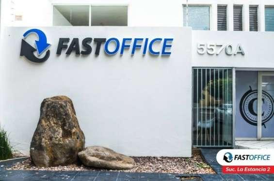 Elegantes oficinas ejecutivas en la estancia 2 fast office