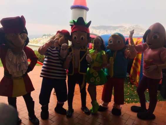 Show infantil de jake y los piratas en cdmx