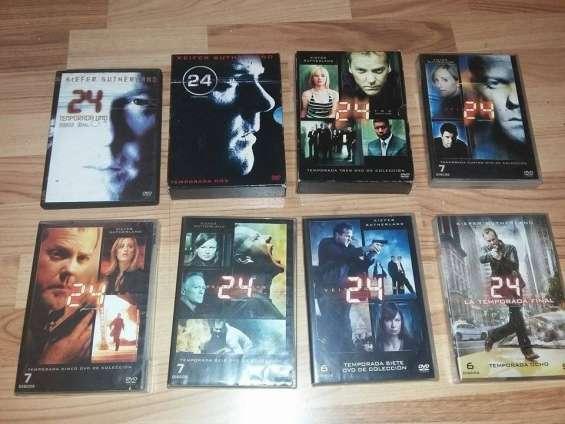 Serie 24 veinticuatro temporadas 1,2,3,4,5,6,7 y 8