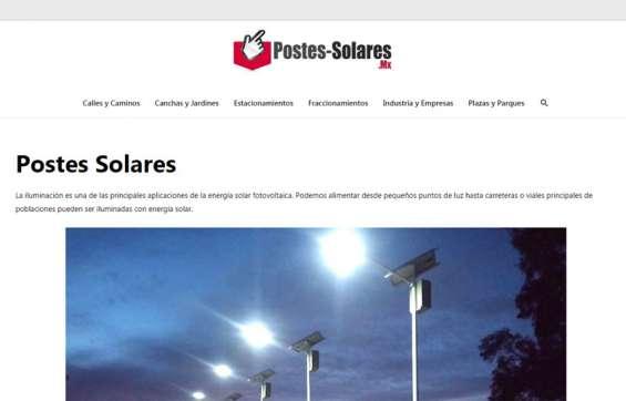 Postes solares