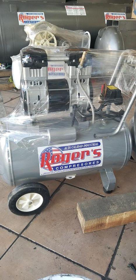 Compresores oil free & roger's