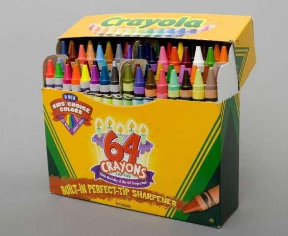 Empaca caja de crayolas desde casa $3000 minimo