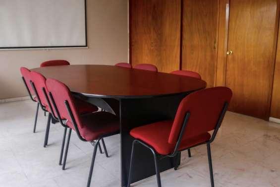Tu oficina amueblada más sala de juntas