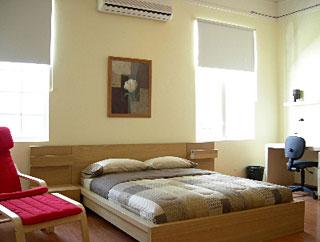 Departamento con servicio tipo hotel por intervalos de tiempos predeterminados