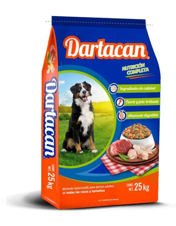 Croqueta para perro marca dartacan.